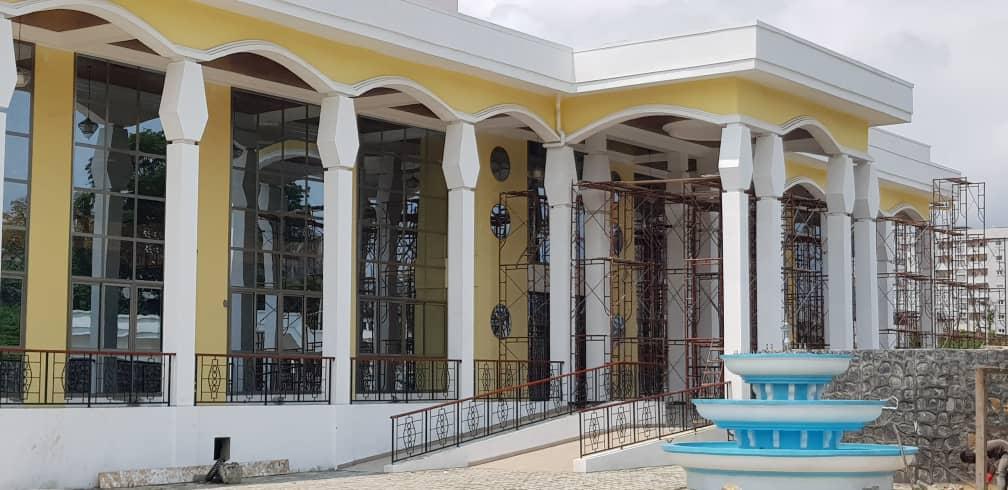 Maison de la culture Sawa à Douala.
