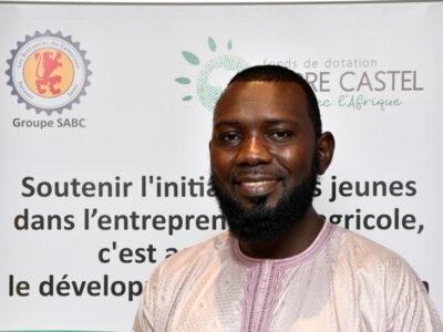 AHMADOU WADIRI, 1er Lauréat du PRIX PIERRE CASTEL CAMEROUN 2021 - 4e édition